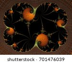 fractal created based on the... | Shutterstock . vector #701476039