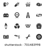 auto icons set and symbols for... | Shutterstock .eps vector #701483998