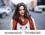 unhappy wife. angry woman... | Shutterstock . vector #701486260