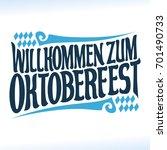 vector poster for beer festival ...   Shutterstock .eps vector #701490733