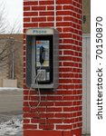Old Public Pay Telephone
