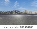 panoramic skyline and buildings ... | Shutterstock . vector #701510206