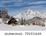 Alpine Chalet In Austrian Alps