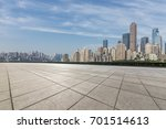 panoramic skyline and buildings ... | Shutterstock . vector #701514613