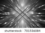abstract grey fractal... | Shutterstock . vector #701536084
