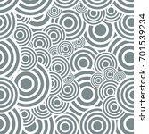 circle seamless pattern....   Shutterstock .eps vector #701539234