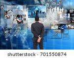 globalization business. | Shutterstock . vector #701550874