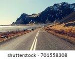 road in iceland | Shutterstock . vector #701558308