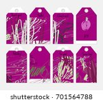 hand drawn creative tags.... | Shutterstock .eps vector #701564788