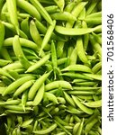 sugar snap peas   Shutterstock . vector #701568406