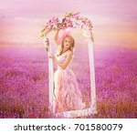 beautiful young woman in the...   Shutterstock . vector #701580079