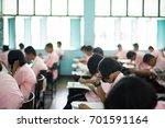 bangprok pathumtani thailand... | Shutterstock . vector #701591164