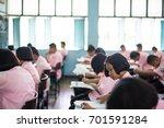 bangprok pathumtani thailand... | Shutterstock . vector #701591284