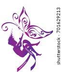 Fibromyalgia Awareness. Purple...