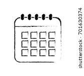 figure calendar data to...   Shutterstock .eps vector #701630374