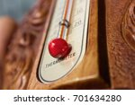 Vintage Violin Thermometer Wit...