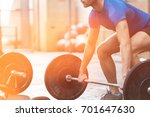 low section of dedicated man... | Shutterstock . vector #701647630
