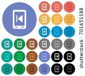 mobile media previous multi... | Shutterstock .eps vector #701651188