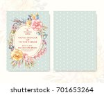 vector card template in pastel...