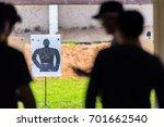 sight  targets shoot the gun of ...   Shutterstock . vector #701662540