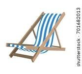 deckchair | Shutterstock .eps vector #701682013