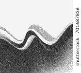 abstract wave. vector... | Shutterstock .eps vector #701687836