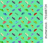 pattern from footwear of the... | Shutterstock .eps vector #701688724