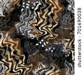 seamless pattern african design.... | Shutterstock . vector #701690038