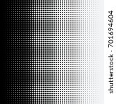 halftone dots on white... | Shutterstock .eps vector #701694604