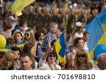 zaporizhia  ukraine august 24 ... | Shutterstock . vector #701698810