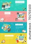 graphic design   webdesign ... | Shutterstock .eps vector #701703103
