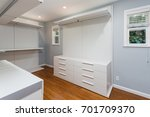large built in closet  | Shutterstock . vector #701709370