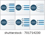 modern infographics paper... | Shutterstock .eps vector #701714230
