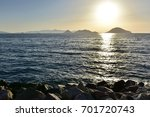 sea  mountains and sunset    Shutterstock . vector #701720743