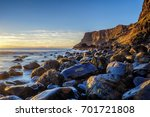 Evening Light On The Rocks ...