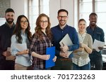 group picture of young... | Shutterstock . vector #701723263