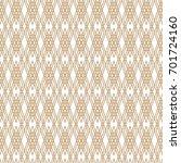 seamless pattern of rhombuses | Shutterstock .eps vector #701724160