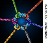 center network connection... | Shutterstock . vector #701730190