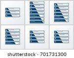 modern infographic options...   Shutterstock .eps vector #701731300