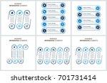modern infographic options... | Shutterstock .eps vector #701731414