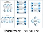 modern infographic options... | Shutterstock .eps vector #701731420