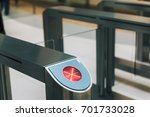 electronic access equipment on... | Shutterstock . vector #701733028