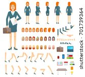 character creation set... | Shutterstock .eps vector #701739364