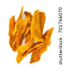 dried mango isolated on white   Shutterstock . vector #701766070