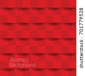 abstract background in red... | Shutterstock .eps vector #701779528
