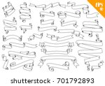 hand drawn detailed vector... | Shutterstock .eps vector #701792893