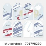 hand drawn creative tags.... | Shutterstock .eps vector #701798230