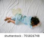 bedwetting  child pee on a... | Shutterstock . vector #701826748