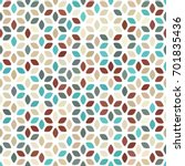 beige  brown  turquoise blue... | Shutterstock .eps vector #701835436