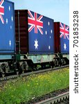 train freight transportation.... | Shutterstock . vector #701853238